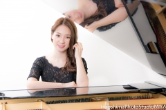 with piano